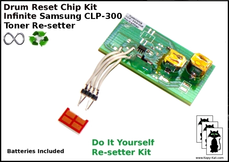 4 reset chips fuses for Samsung CLP 310 315 320 325 CLX 3170 3175 Drum imaging